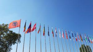 Dem Europarat gehören mittlerweile fast alle europäischen Staaten an.